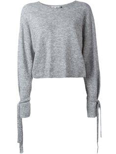 HELMUT LANG cuff tie jumper. #helmutlang #cloth #jumper