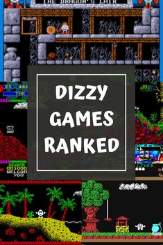 The Dizzy Games - Ranked - The Goblin & Sausage Angry Grandpa, Fawlty Towers, Misty Eyes, Only Fools And Horses, Boxing Gloves, Back To The Future, Gaming Computer, The Good Old Days, Game Character