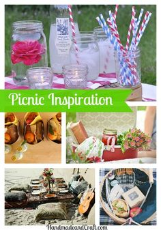 Picnic Inspiration for a perfect summer day! #picnic