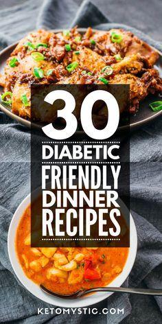Easy Diabetic Meals, Diabetic Food List, Diabetic Recipes For Dinner, Diabetic Meal Plan, Diabetic Friendly, Recipes For Diabetics Easy, Low Sugar Dinners, Low Sugar Recipes, Diet Recipes