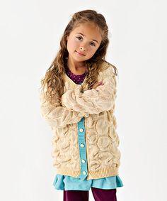 Look at this #zulilyfind! Tan Snowball Sweater - Toddler by Matilda Jane Clothing #zulilyfinds