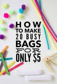 54d905d33e 26 Best Busy Bags for Toddlers images