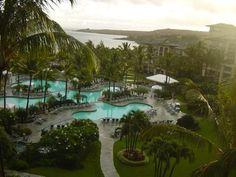 Ritz Carlton Maui. Our honeymoon.