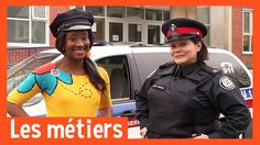 Les métiers - POLICIER People Who Help Us, Social Studies, Riding Helmets, French, Youtube, Police Officer, Preschool, French People, French Language