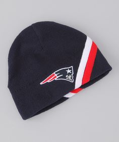 Take a look at this Navy New England Patriots Beanie on zulily today! 4589deb322c