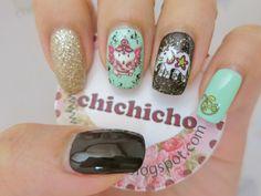 Elephant Water Decal Nail Art BOP125 | chichicho~ nail art addicts