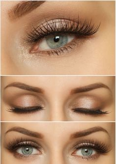 Golden eye make up . , Golden eye make up . Golden eye make up Extra. Natural Wedding Makeup, Wedding Hair And Makeup, Bridesmaid Makeup Natural, Natural Prom Makeup For Brown Eyes, Hair Wedding, Golden Eye Makeup, Simple Wedding Makeup, Neutral Eye Makeup, Bridesmaid Makeup Blue Eyes
