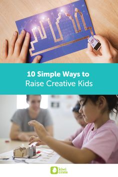 Would you like to raise your children to be their most creative selves, but could use a little help on getting from here to there? The path to creative thinking is twisty and murky, with few signposts and plentiful detours, but there are some landmarks that can help us find our way.
