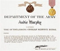 To hell and back 10 interesting facts about audie murphy do you image result for audie murphy medal of honor certificate yadclub Image collections