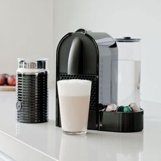 Nespresso U Automatic Espresso Machine with Aeroccino - For Charl Automatic Espresso Machine, Nespresso, Coffee Maker, Kitchen Appliances, Coffee Lovers, House, Products, Coffee Maker Machine, Diy Kitchen Appliances