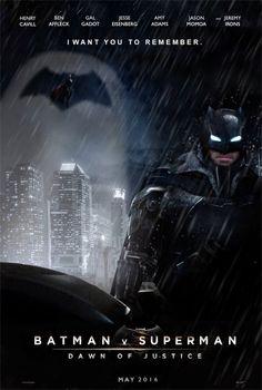 """9 posters ÉPICOS de """"Batman V Superman"""" criados por fãs   Amigos do Fórum"""