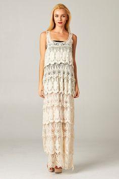 Crochet Gabriella Dress | Awesome Selection of Chic Fashion Jewelry | Emma Stine Limited