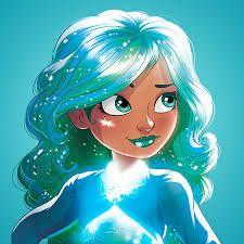 Tessa is the nurturer of the Star Darlings. Disney Channel, Star Darlings, Pretty Drawings, Drawings Of Friends, Mandala, Animation, Disney Stars, Starling, Bright Stars