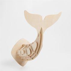 Kit de construção cauda de baleia