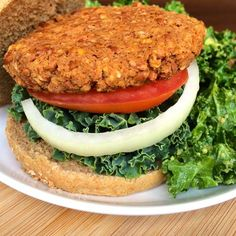 Delicious Chipotle Pinto Burgers. Only 132 calories per serving with tons of fiber and protein!