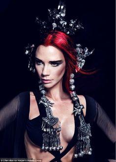 HARPER'S BAZAAR CHINA | Editorial Maio 2012 | Victoria Beckham por Chen Man