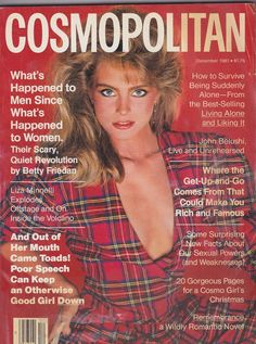 December 1981 cover with Kim Alexis photographed by the late Francesco Scavullo Kim Alexis, Quiet Revolution, Kelly Emberg, Cool Magazine, Magazine Covers, Disney Princess Memes, Francesco Scavullo, 1990s Supermodels, Kelly Lebrock
