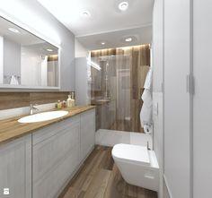 Ciąg szafek łazieenkowych - zdjęcie od CHATANOWA - Łazienka - Styl Minimalistyczny - CHATANOWA