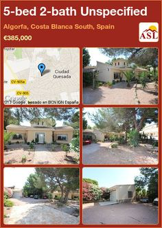Unspecified for Sale in Algorfa, Costa Blanca South, Spain with 5 bedrooms, 2 bathrooms - A Spanish Life South Spain, Pine Forest, Private Pool, Terrace, Spanish, Villa, Floor Plans, Bath, Nature