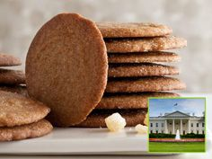 """White House Molasses Spice Cookies """"Gingersnaps"""""""