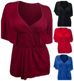 cute and flattering plus size wrap top