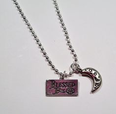 Hey, I found this really awesome Etsy listing at https://www.etsy.com/listing/219053103/house-of-night-inspired-blessed-be-charm