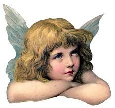 Paper cherub vintage etsy , vintage, cherub painting against blue background png clipart Christmas Angels, Vintage Christmas, Vintage Illustration, Victorian Angels, Theme Tattoo, Angel Images, Angel Pictures, Angel Aesthetic, Graphics Fairy