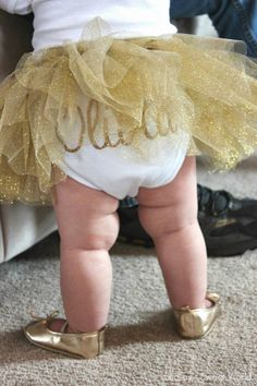 Lindsay's Sweet World: Olivia Cate's Pink & Gold First Birthday