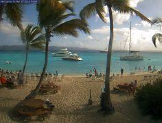 Soggy Dollar Bar Webcam, Live Beach Photos of White Bay Beach, Jost Van Dyke, BVI | Soggy Dollar Bar