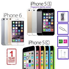 Apple #iphone 5s 5c 6 8gb 16gb 32gb 64gb #factory unlocked sim free #smartphone u,  View more on the LINK: 	http://www.zeppy.io/product/gb/2/162268940246/