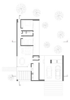Image 18 of 27 from gallery of Belavista House / Agustín Lozada. Floor Plan
