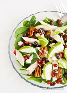 Chicken Apple And Pecan Salad