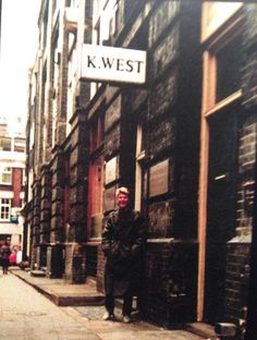 David Bowie - 23 Heddon Street, London: 1981
