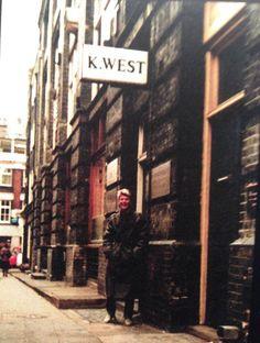 David Bowie - 23 Heddon Street, London: 1981