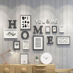 Living Room Decor Cozy, Home Living Room, Bedroom Decor, Kids Decor, Diy Home Decor, Scrabble Wall Art, Simple Bedroom Design, Music Studio Room, Family Wall Decor