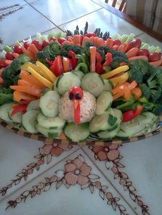 Veggie Turkey Tray