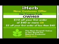скидка на iherb , покупки с iherb iherb купон код OWI469 http://www.youtube.com/watch?v=iiV5ELxvum4 $5 скидка на ваш первый заказ в iHerb! Если сумма Ваших заказов более $40, получите $10 скидку!   #iherb #iherbcom #iherbcoupon #iherbkupon #iherbcouponcode