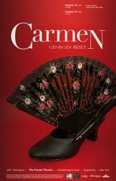 Carmen | Opera Poster | www.josellopis.com