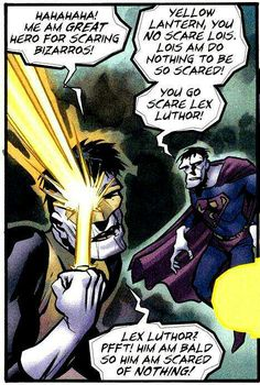 Bizarro Yellow Lantern