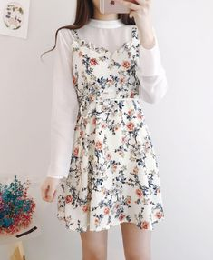 Cutesy dress and lovely blouse