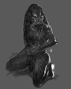 Alien Vs Predator, Predator Cosplay, Predator Alien, Aliens, Alien Creatures, Fantasy Creatures, Female Yautja, Hr Giger Art, Female Monster