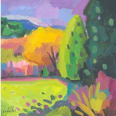 Árboles en el campo de golf. Guillermo Martí Ceballos