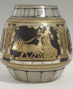 Original Friedrich Egermann or Josef Pohl Haida Museum Quality Glass Bohemia Glass, Czech Glass, Joseph, Glass Art, Museum, The Originals, Home Decor, Vases, Crystal