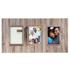 Get Gray Rustic Barn Slat 3-Opening Collage Frame online or find other Collage Frames products from HobbyLobby.com