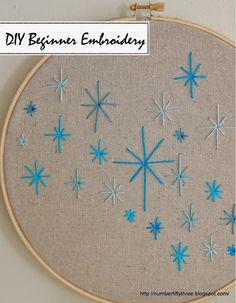 DIY beginner embroidery - Jennifer Rizzo
