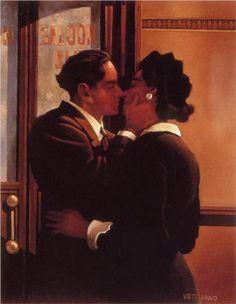 Kiss - Jack Vettriano