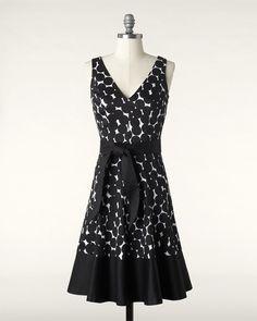 Tumbled dots dress
