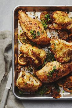 An easy light dinner party recipe idea. Plus its a great way to use up any leftover herbs you have in the fridge. Chicken Dinner Party Recipes, Healthy Chicken Dinner, Healthy Chicken Recipes, Easy Healthy Recipes, Party Chicken, Light Easy Dinner, Light And Easy Meals, Easy Light, Herb Salad
