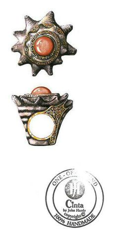 John Hardy. Shell ring sketch...♡