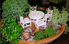 fairy gardens | Laura's Flower & Garden Design - MN / Scan10003.jpg
